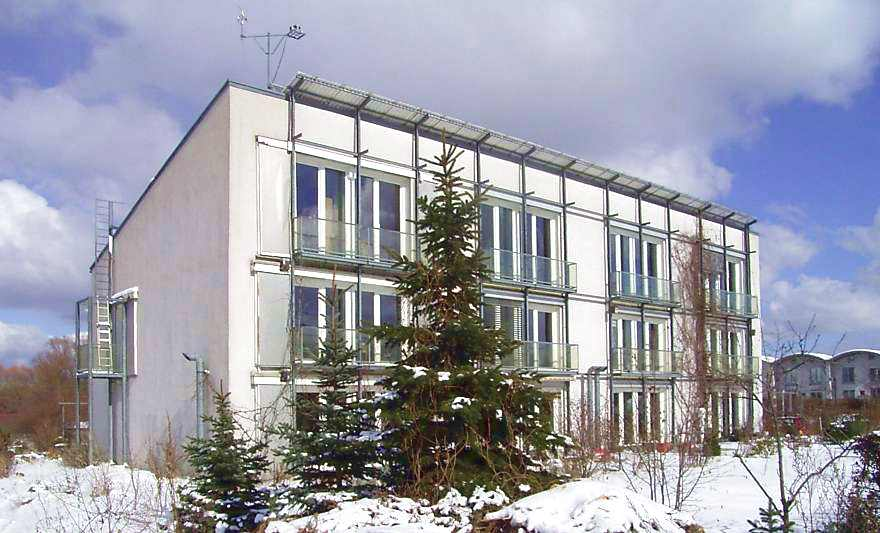 Primer edificio Passivhaus, Darmstadt (Alemania)
