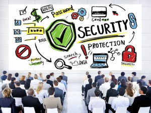 38988086 - ethnicity business people security protection conference seminar concept